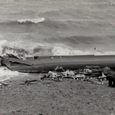 Rehu Moana shipwreck in 1982 | Alan Winter