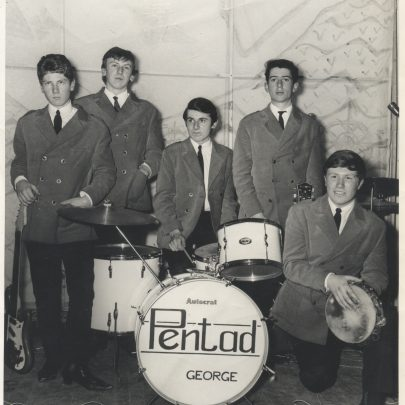 I think this picture was from about 1965. It was at Canvey Civic Command Performance at Canvey Secondary School. I remember it was taken by the legendary Joe Overs from Jacksons Photographic Studios. From L to R:- Tony Wilson, Bill Goilleau, George Payne, Graham Wood, Ken King. Happy Days!! | George Payne