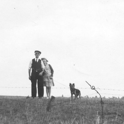 Val and Ernest Deith on a walk | Val Wright