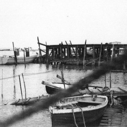 24 Smallgains Creek with Canvey supply jetty. | Marian Patten