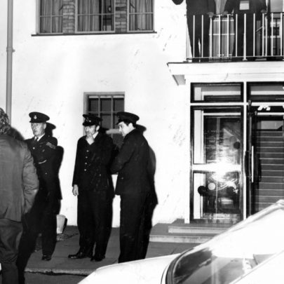 Oct. 1973 Protesters lock councillors in at Council Offices. | Echo Newsapers