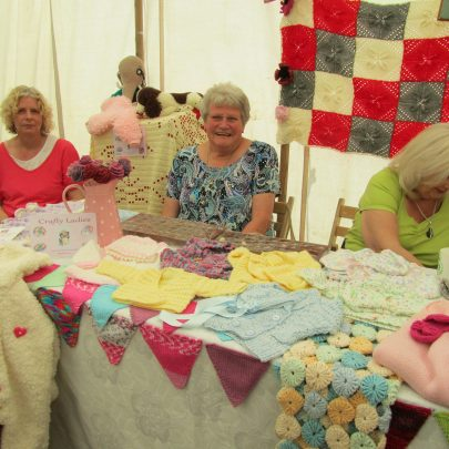 Crafty Ladies at Canvey West Marsh