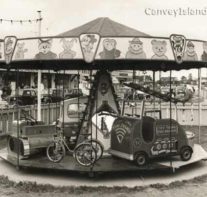 Opposite the Canvey Casino - Junior Merry Go Round | © The Swann Family