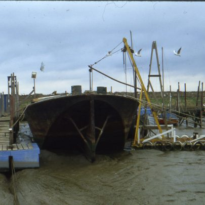 Mississippi and The Halcon Barge