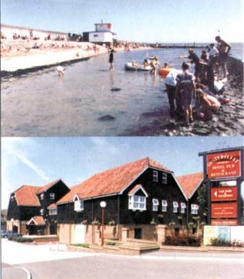 Concorde Cafe & Oysterfleet Hotel - Card Recently purchased at Welcome hut