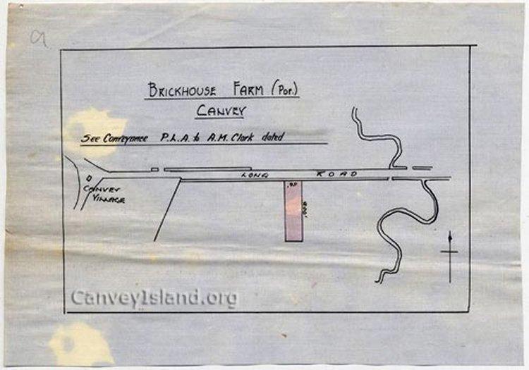 Plan of part of Brickhouse Farm