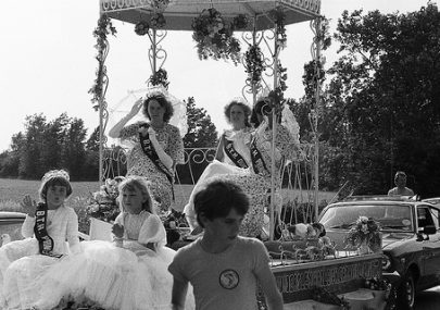 Canvey Carnival in the early 1980s