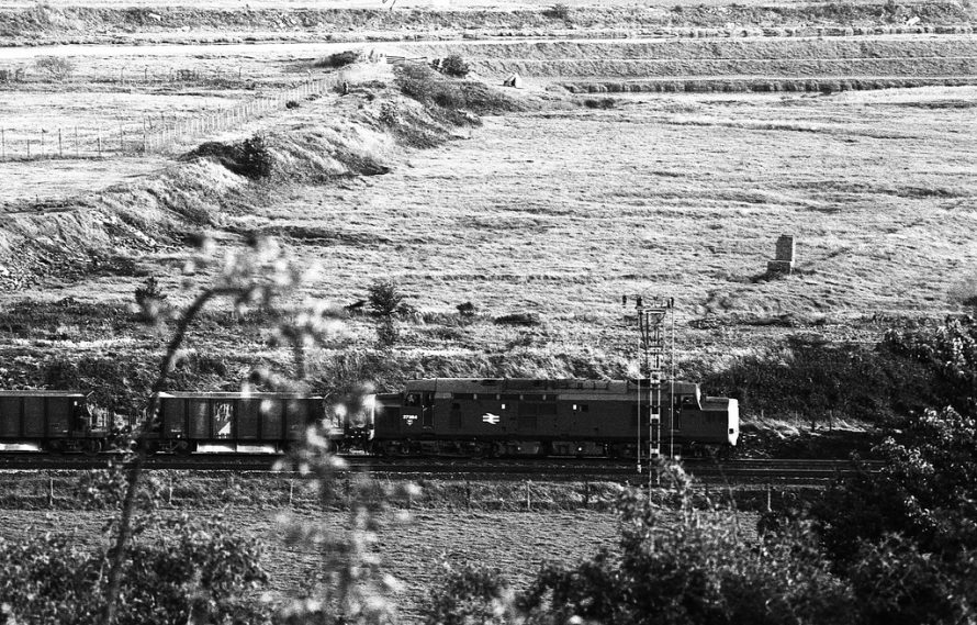 The railway which would be in the foreground of the photo at the top. | Paul Judge