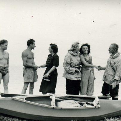 R Prout, Francis, Doris Hawks, Mrs G Prout & G Prout | Shiner & Holmes,Benfleet