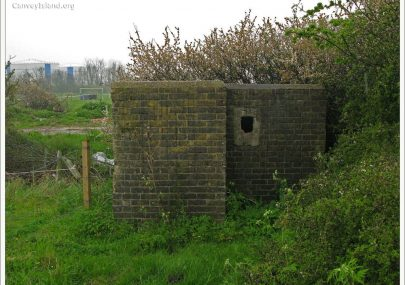 Canvey's last remaining Pillbox