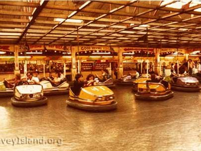 The Dodgems with the last ever set of cars purchased | © The Swann Family