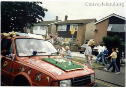 Canvey Carnival Cine Film 1978