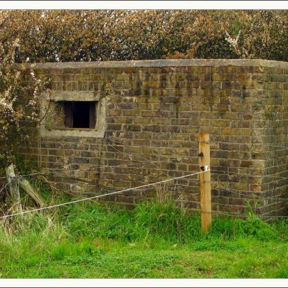 Canvey's Pillbox with Loop | (c) David Bullock