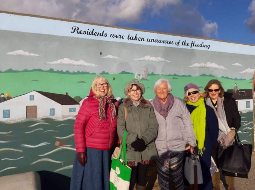 Some of our new friends | Courtesy of Friends of Jaywick Martello Tower