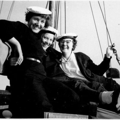 51 Sea Rangers ahoy! Marian, Mary Knopp, Grace Loader. | Marian Patten