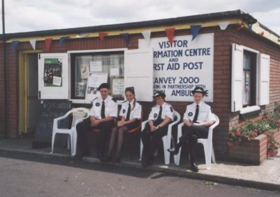 Visitor Centre and First Aid Post