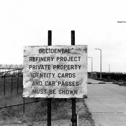 entrance to Oikos site. | Echo Newsapers
