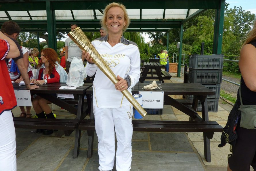 Canvey Islander Kim Oxford one of the Torch bearers | Janet Penn