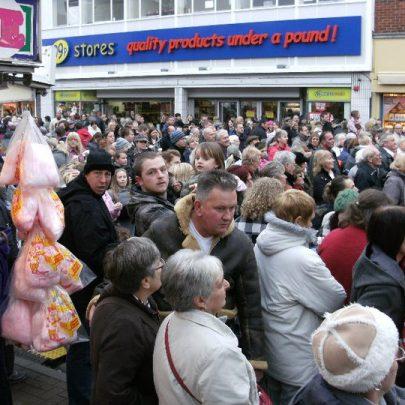 The crowds | Philip Davies
