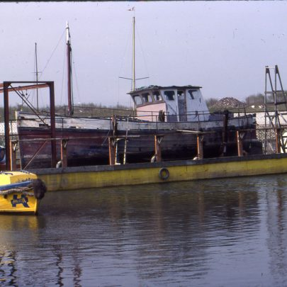 Canvey Island's Floating Dry Dock