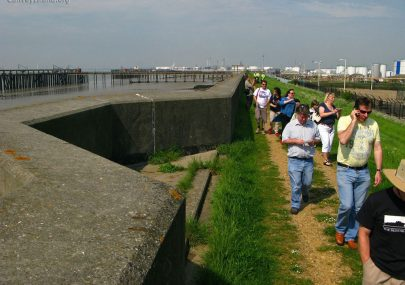 Evidence of Canvey's Sea Wall Pillboxes