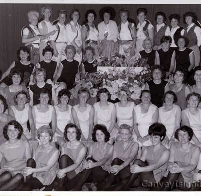 Methodist Wifes Club Keep Fit Display - Carnival Week 1964 | D Bullock