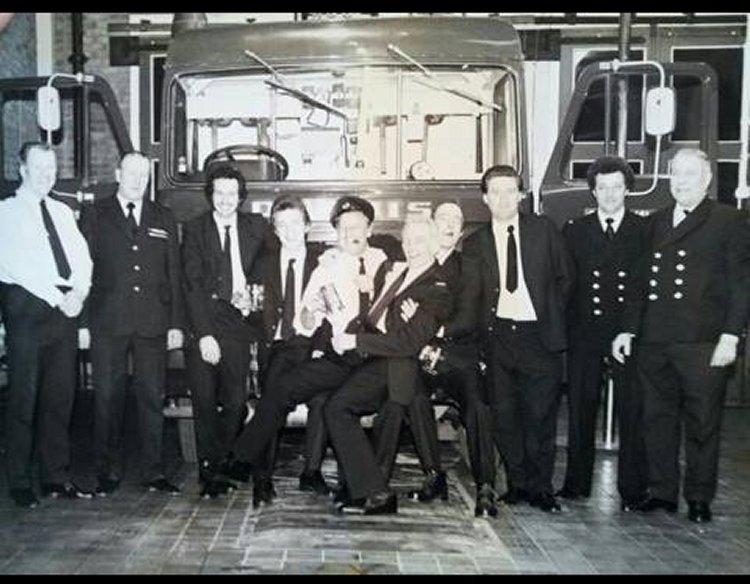My granddad was Edward Spillman 4th from right