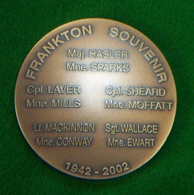 Commemorative Medallion