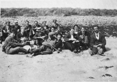 Lads at Canvey Beach 1913