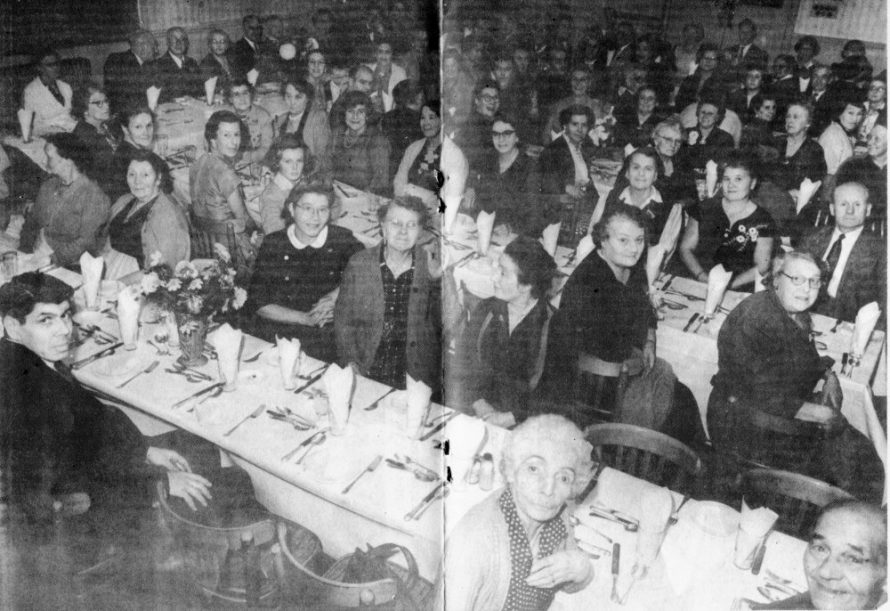 A Postwar dinner held at the Admiral Jellicoe Hall. Do you recognise anyone? | Jacksons Photo Service