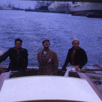 Hurrying Angel in London Docks, Dave Bowen, Jock & Ian | Ian