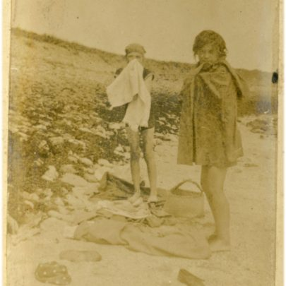 1922: Stuckey girls drying off after a swim | David Bullock