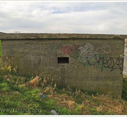 The east wall of the Ammunition House at Scars Elbow | (c) David Bullock
