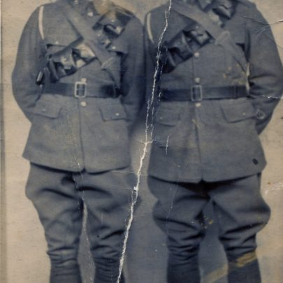 Arthur and Frank Sharp brothers of Grandmother Fry died in the Somne | David Cain