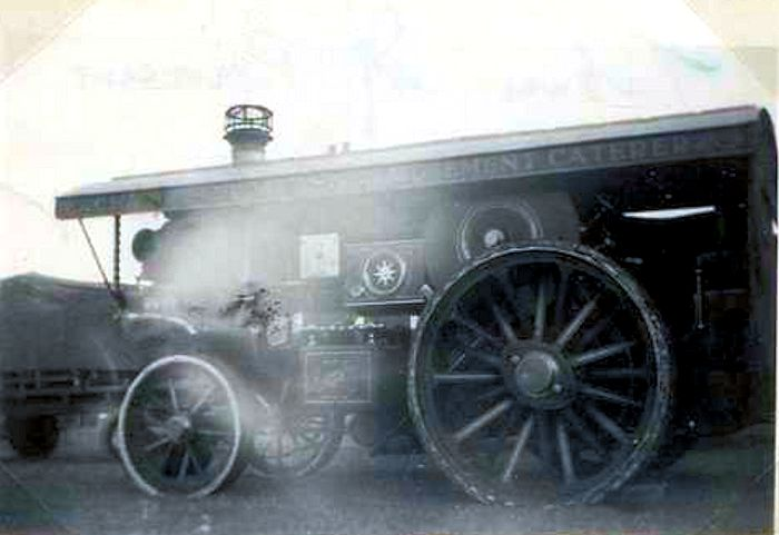 Burrell traction engine 3949 Queen Mary