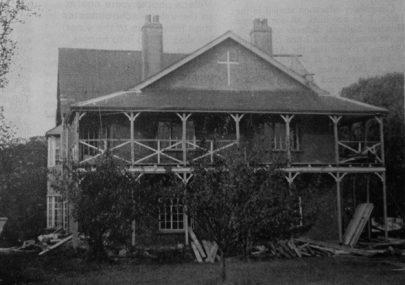 The Original Anglican Convent Building