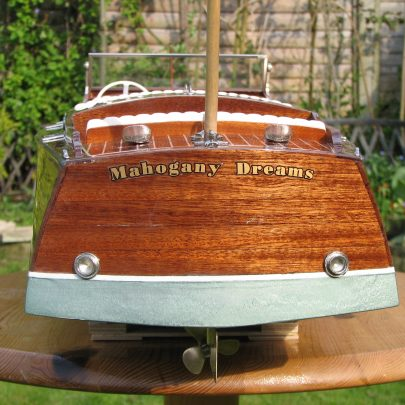 My passion for boat building