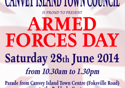 Canvey's Armed Forces Day 2014