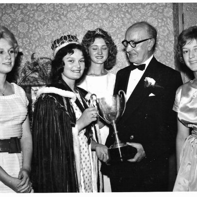 At the Queen's Crowning Dance at the Casino 18.6.60 (I am on the right in this photo) | Pauline Hayford nee Woodcock