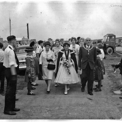 Approaching Beach House after the carnival parade 23.7.60 | Pauline Hayford nee Woodcock