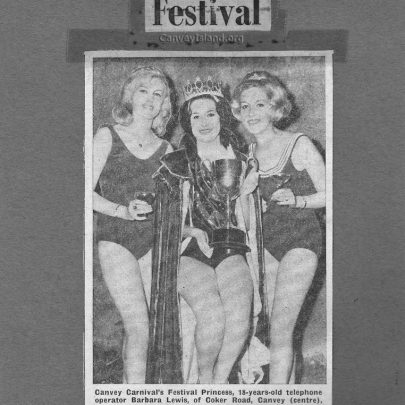 Canvey Festival 1963 - After the selection of the Festival Princess - I am on the left | Pauline Hayford nee Woodcock