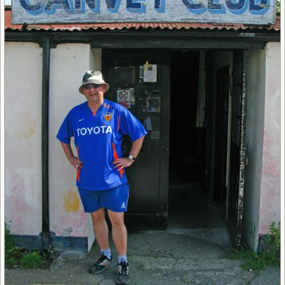 We arrive at the Canvey Club - photo location for 'Sneeking Suspicion' | (c) David Bullock