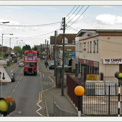 Bus going past Canvey Supply | Dave Bullock