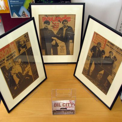 Canvey Library - Dr Feelgood Display | Dave Bullock