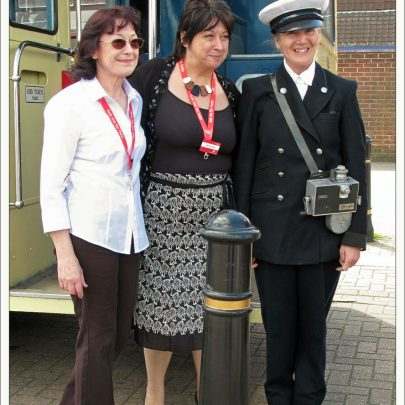 Canvey Island Library - Diane in the middle | Dave Bullock