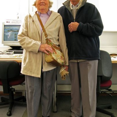 Vera & Stan Oaker - Canvey Historical Society | Dave Bullock