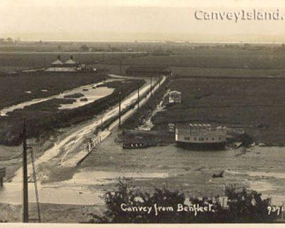 Canvey Island crossing viewed from Benfleet Downs | David Bullock