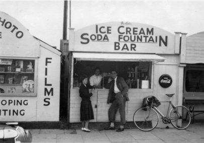At the Ice Cream Bar
