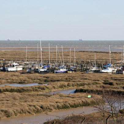 View of Smallgains Creek from canvey Heights   Carol McCracken