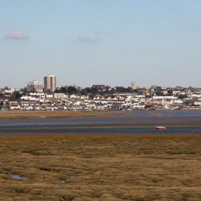 The Mainland from canvey Heights   Carol McCracken